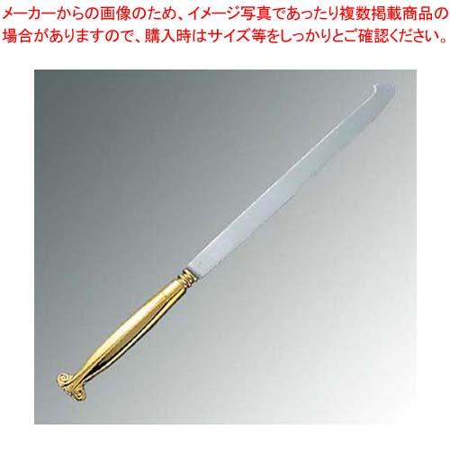 【まとめ買い10個セット品】 【 業務用 】18-8 ウェディングケーキナイフ 剣型