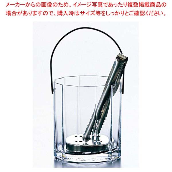 【まとめ買い10個セット品】 【 業務用 】ガラス アイスペール ローシュ 62582