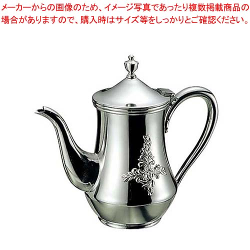 【まとめ買い10個セット品】 【 業務用 】18-8 ダイヤ ローズ コーヒーポット 3人用