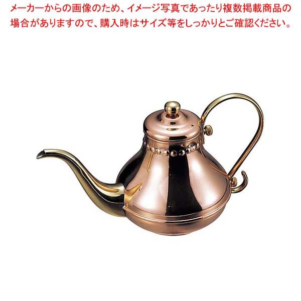 【まとめ買い10個セット品】 【 業務用 】銅 アラジン コーヒーポット(ティーポット兼用)900cc