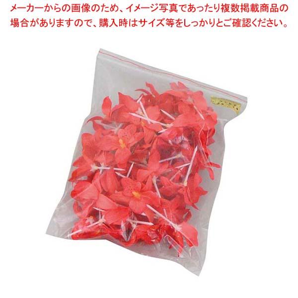【まとめ買い10個セット品】 【 業務用 】フラワーピック #301 赤(50本・袋入)