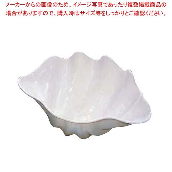 【まとめ買い10個セット品】シャコ貝 ホワイト L プラスチック【 ビュッフェ関連 】 【厨房館】