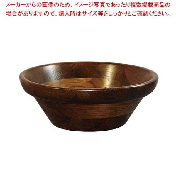 【 業務用 】けやき サラダボール(オイルカラー)130001 φ350