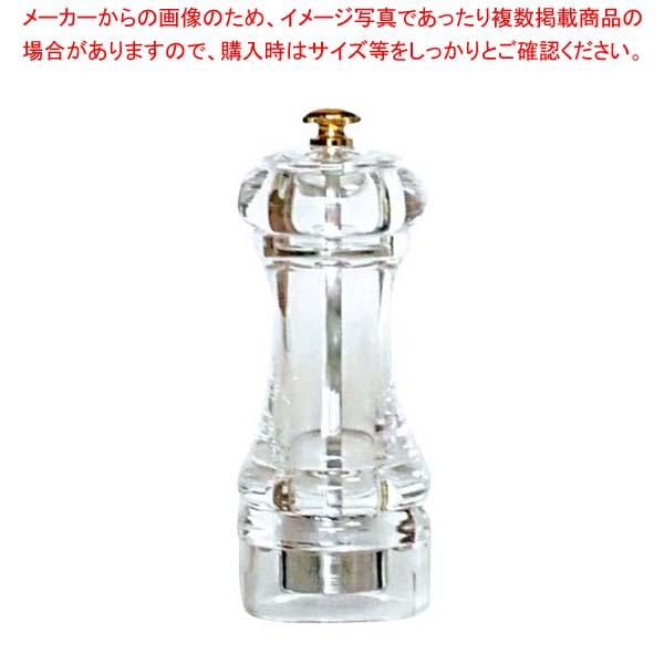 【まとめ買い10個セット品】IKEDA アクリル ペパーミル PMA-120【 卓上小物 】 【厨房館】