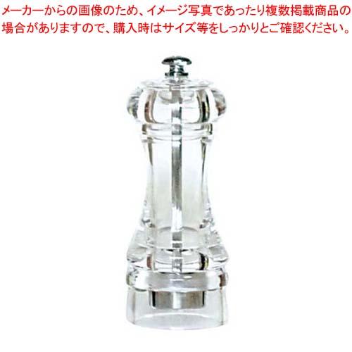 【まとめ買い10個セット品】IKEDA アクリル ソルトミル SMA-120【 卓上小物 】 【厨房館】