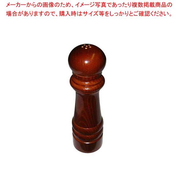 【まとめ買い10個セット品】IKEDA ソルト入れ(ケヤキ)7102【 卓上小物 】 【厨房館】
