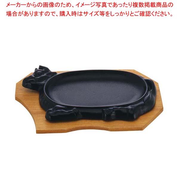 【まとめ買い10個セット品】 IK 鉄 ステーキ皿 牛 【厨房館】【 卓上鍋・焼物用品 】