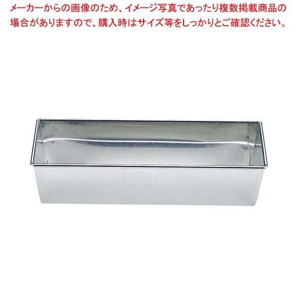 【まとめ買い10個セット品】 【 業務用 】ブリキ パウンドケーキ型 特大(OPA)363×80×H60
