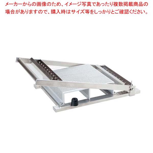 【 業務用 】アルミ ギッター(チョコ)カッターセット 35mm仕様