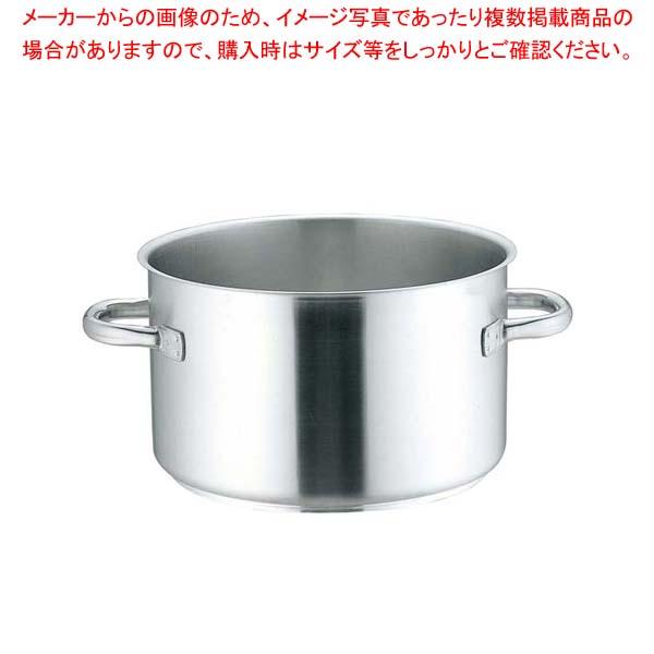 ムヴィエール プロイノックス 半寸胴鍋(蓋無)5935-40cm【 IH・ガス兼用鍋 】 【厨房館】