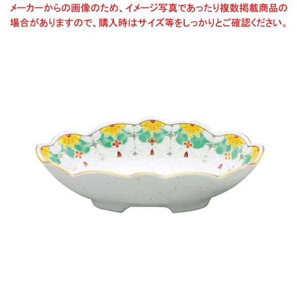【まとめ買い10個セット品】 【 業務用 】アルセラム強化食器 錦瓔珞楕円向付 EC2-61