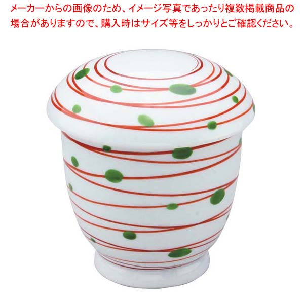 【まとめ買い10個セット品】 【 業務用 】アルセラム強化食器 赤渦むし碗 EC4-76