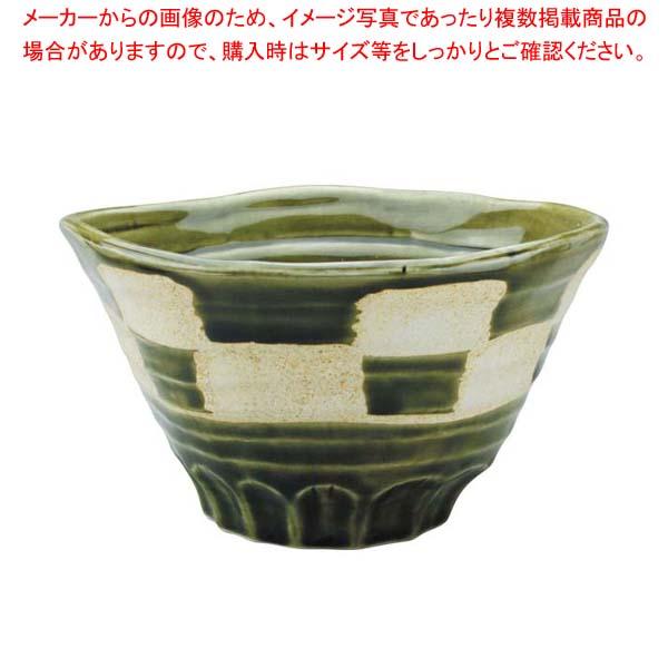 【まとめ買い10個セット品】 【 業務用 】アルセラム強化食器 織部市松丼 EC1-63