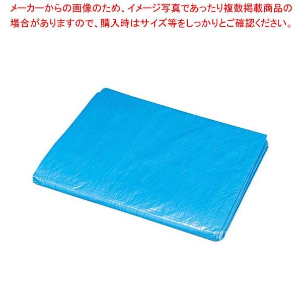 【まとめ買い10個セット品】 【 業務用 】ブルーシート B20-3654 3600×5400×2