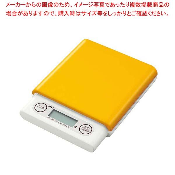 【まとめ買い10個セット品】 【 業務用 】A&D ホームスケール3kg UH3201 イエロー