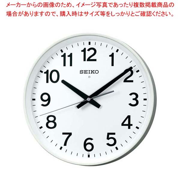 【まとめ買い10個セット品】セイコー 掛時計 オフィスクロック KX317W【 店舗備品・インテリア 】 【厨房館】