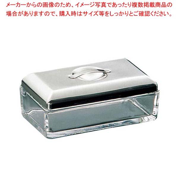 【まとめ買い10個セット品】ガラス バターポット No.710【 卓上小物 】 【厨房館】