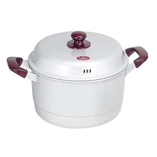 【まとめ買い10個セット品】 【 業務用 】モアパールクイーン アルマイト 兼用鍋 24cm