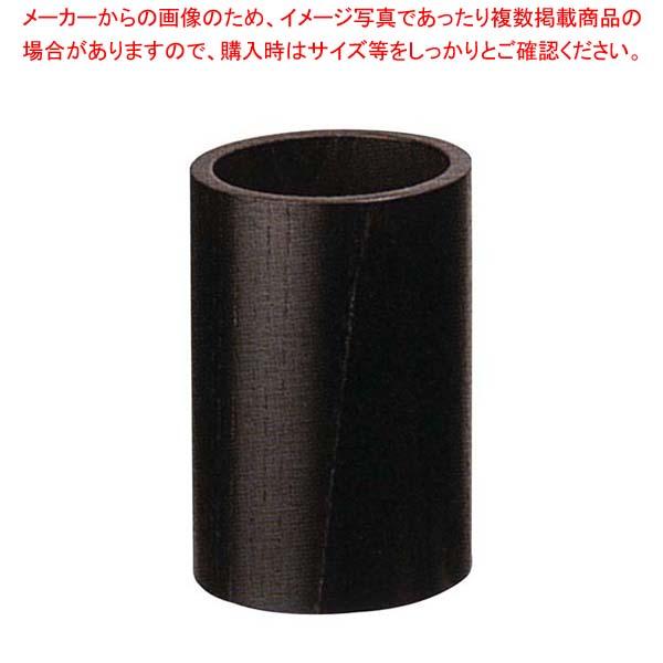 【まとめ買い10個セット品】 【 業務用 】木製 丸 ナフキン立 NK-1B(黒)