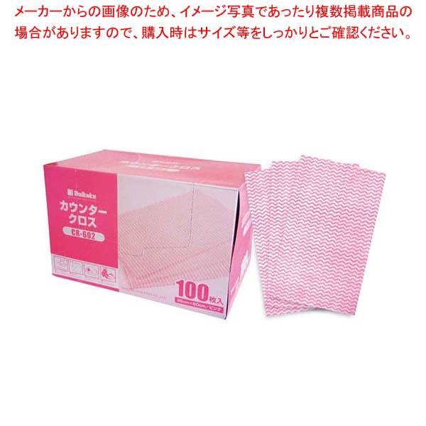 【まとめ買い10個セット品】 【 業務用 】DK カウンタークロス(100枚入)ピンク CR-602