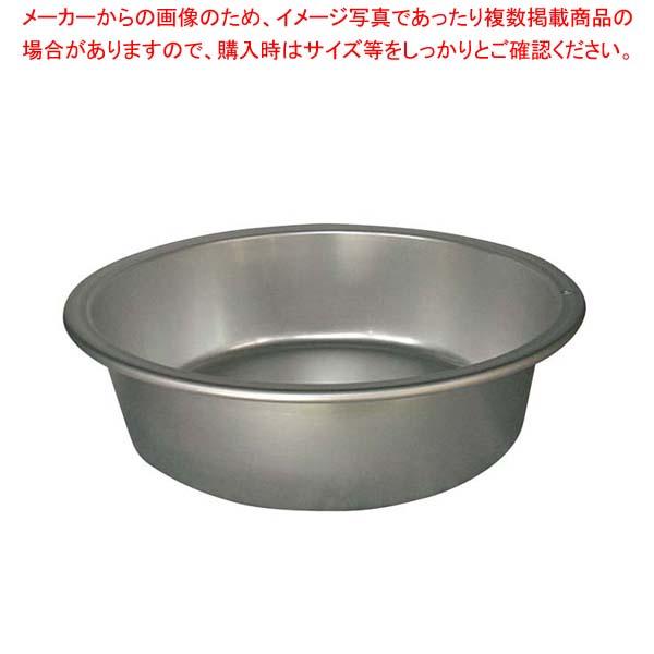 【まとめ買い10個セット品】アルマイト タライ 平底(普及型)42cm【 ボール・洗い桶 】 【厨房館】