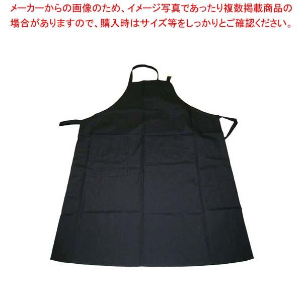 【まとめ買い10個セット品】 【 業務用 】エプロン CT2503-9 ブラック
