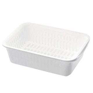 【まとめ買い10個セット品】 【 業務用 】レイ 水切りセット L ホワイト
