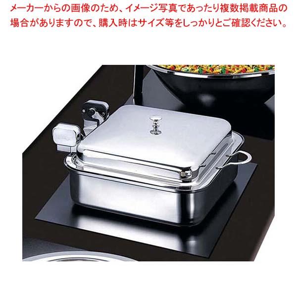 ハイパーラックス 角型電磁サーバー ステンレス蓋タイプ(油圧)55cm HA-649【 ビュッフェ関連 】 【厨房館】