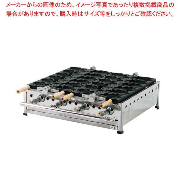 【 業務用 】IT たい焼機 6匹(STFコート)THA-3T LP【 メーカー直送/後払い決済不可 】