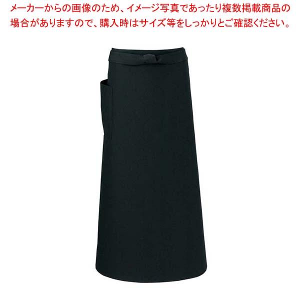 【まとめ買い10個セット品】 【 業務用 】ソムリエエプロン T-6233 ブラック