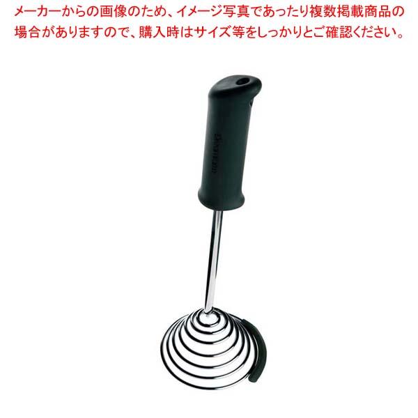 【まとめ買い10個セット品】 【 業務用 】スムード ポテトマッシャー ブラック