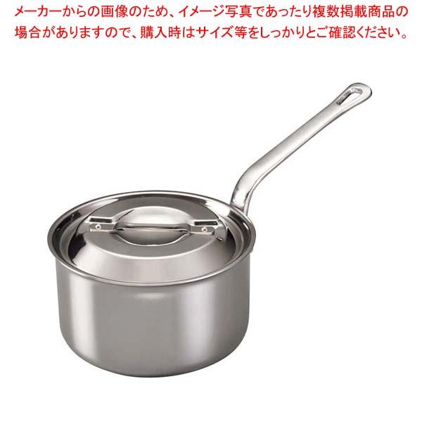 【まとめ買い10個セット品】 【 業務用 】ステンレス・アルミクラッド プロシードIII深型片手鍋 20cm