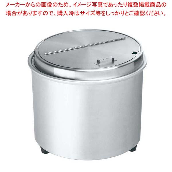 エバーホット スープウォーマー オールステンレス NL-16S(蒸気熱保温方式)【 炊飯器・スープジャー 】 【厨房館】