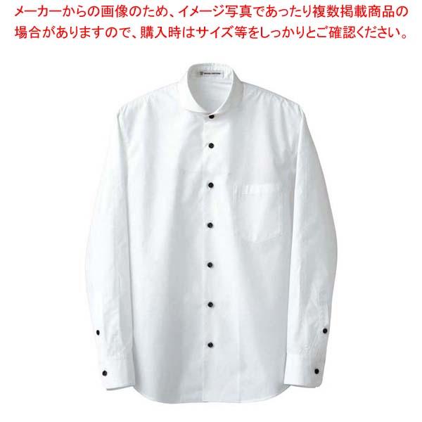 【まとめ買い10個セット品】 【 業務用 】男性用長袖シャツ CH4426-0 ホワイト M