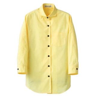 【まとめ買い10個セット品】 【 業務用 】女性用七分袖シャツ CH4427-5 イエロー 15号