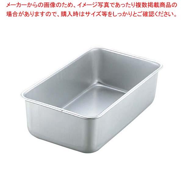 【まとめ買い10個セット品】 アルマイト D型 角バット 43型 【厨房館】【 ストックポット・保存容器 】