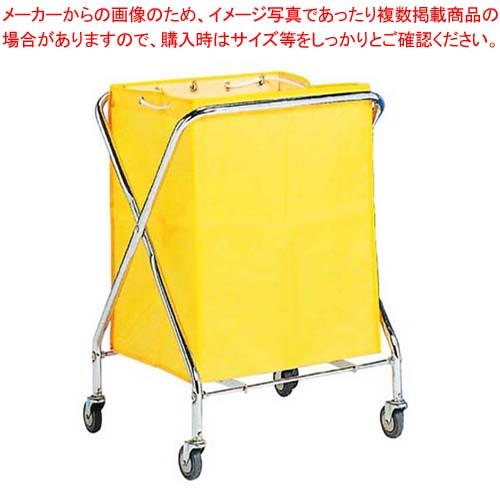【まとめ買い10個セット品】 【 業務用 】BM ダストカー 袋付(折りたたみ式)小 黄 132L【 メーカー直送/代金引換決済不可 】