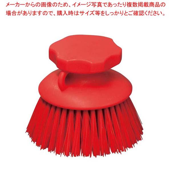 【まとめ買い10個セット品】HPハンドブラシ 丸型 レッド 55862【 清掃・衛生用品 】 【厨房館】