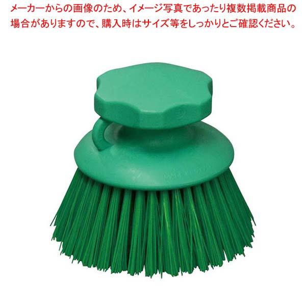 【まとめ買い10個セット品】 【 業務用 】HPハンドブラシ 丸型 グリーン 55864