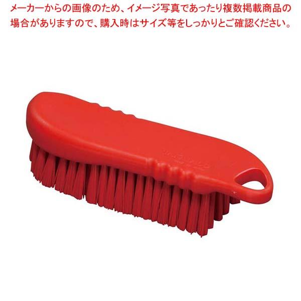 【まとめ買い10個セット品】 【 業務用 】HPハンドブラシ L(ハード)レッド 55096