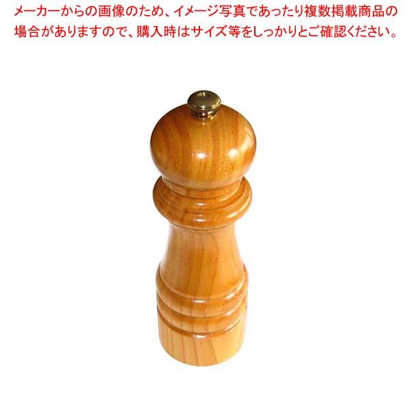 【まとめ買い10個セット品】IKEDA ペパーミル(ケヤキ)6111【 卓上小物 】 【厨房館】