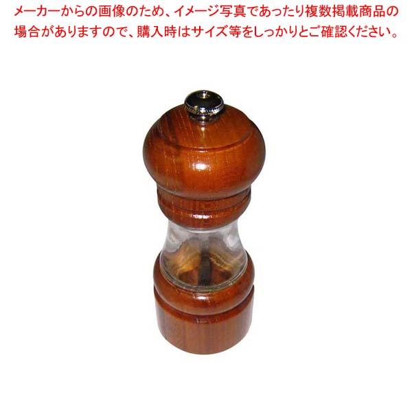 【まとめ買い10個セット品】IKEDA クリスタルウッド ソルトミル 4705【 卓上小物 】 【厨房館】