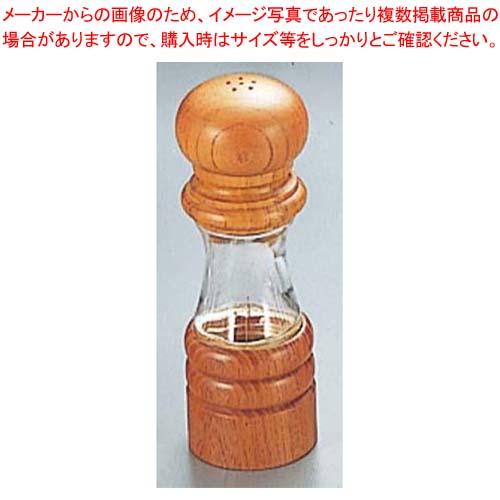 【まとめ買い10個セット品】IKEDA クリスタルウッド ソルト入れ 6712【 卓上小物 】 【厨房館】