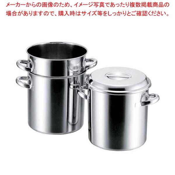 【まとめ買い10個セット品】 【 業務用 】クローバー 18-8 テーパーキッチンポット 20cm