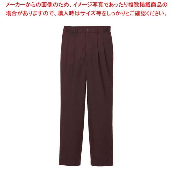 【まとめ買い10個セット品】 【 業務用 】ツータックパンツ(男性用)KP001M-6 茶 4L