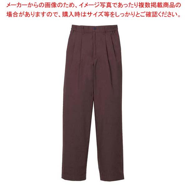 【まとめ買い10個セット品】 【 業務用 】ツータックパンツ(女性用)KP002L-6 茶 15号