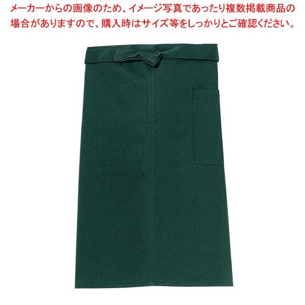 【まとめ買い10個セット品】 【 業務用 】前掛け(長)KE0020-4 緑