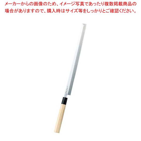【 業務用 】正本 本霞(玉白鋼)タコ引(刺身)24cm KS0124