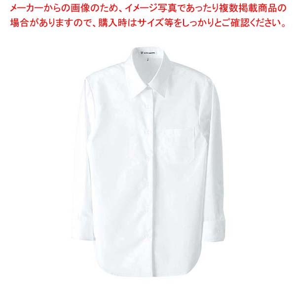 【まとめ買い10個セット品】 【 業務用 】シャツ(女性用)UH7602-0 ホワイト 7号