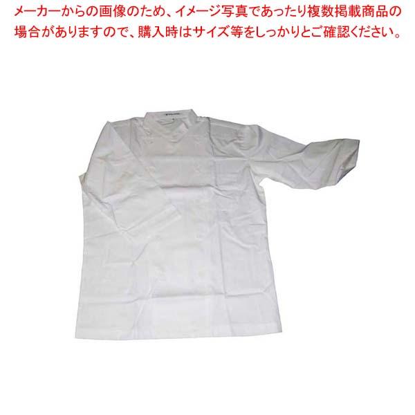【まとめ買い10個セット品】コックシャツ(男女兼用)BA1208-0 オフホワイト M【 ユニフォーム 】 【厨房館】